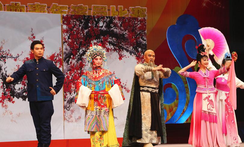 第七届广西戏曲青年演员比赛圆满落幕