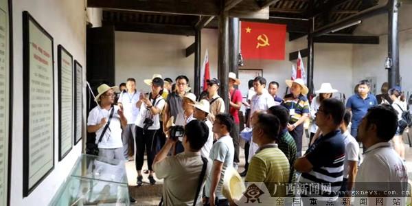 再走长征路 访兴安红军堂看红军光华铺阻击战战壕