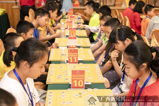 2019广西少儿象棋等级赛战罢 少年象棋队呼之欲出