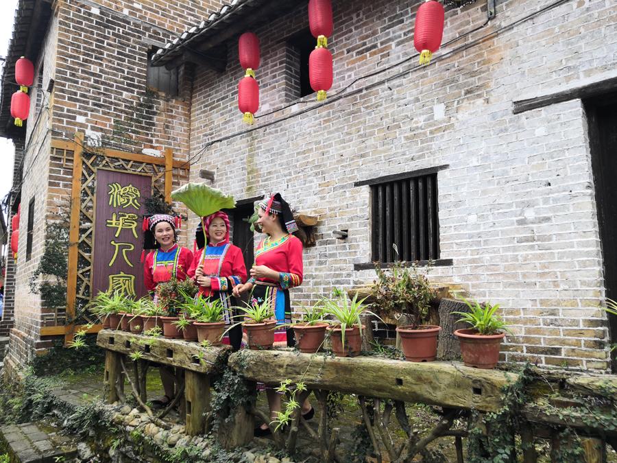 高清:贺州富川深坡村 万幅影像道不尽的村落乡愁