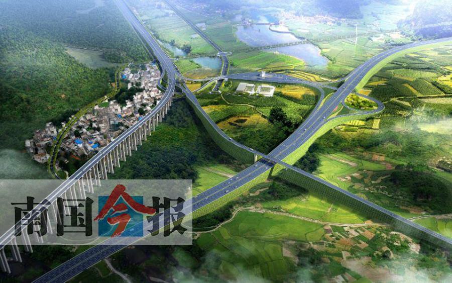 7月18日焦点图:桂柳高速部分路段改造成柳州东外环南段