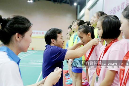 2019广西青少年羽毛球锦标赛暨区运会资格赛收官