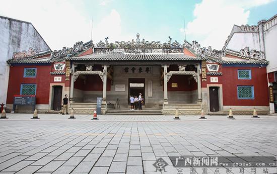 网媒记者参观粤东会馆 感受红色文化魅力(图)