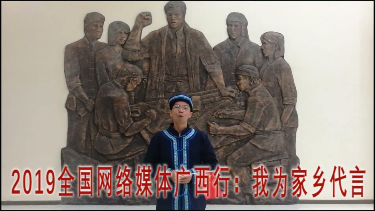 我为家乡代言:东兰音乐铜鼓文化传承人谭安益