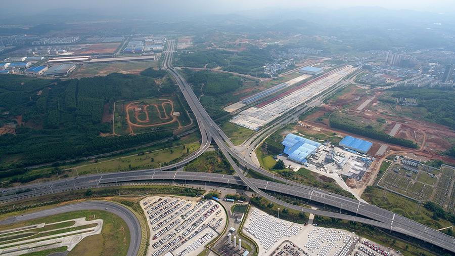 柳州东外环通车 从鹧鸪江到桂柳高速仅需10多分钟
