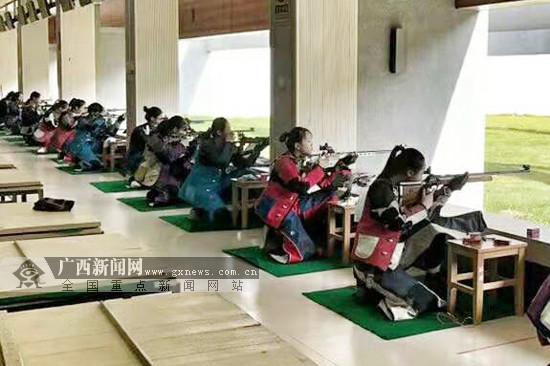 2019广西青少年射击锦标赛收官 玉林队20金居榜首