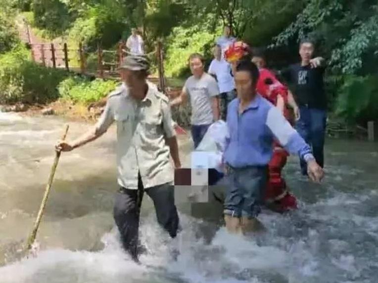 痛心!4名广西青年游秦岭被山洪围困 1人溺亡(图)