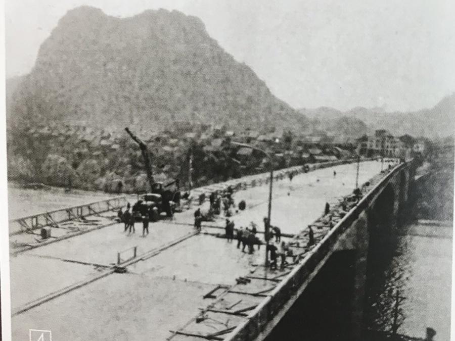 8月6日焦點圖:柳州這座大橋曾是50年前的全國第一