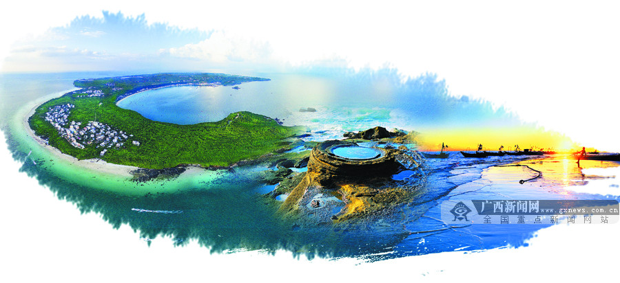高清:北海涠洲岛华丽转身 争创国家5A级旅游景区