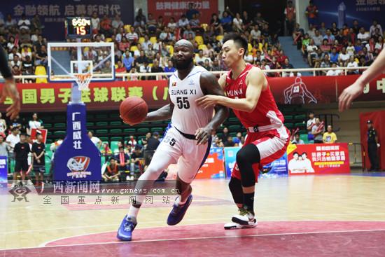 3-0战胜金健米业 广西威壮时隔5年再进NBL总决赛
