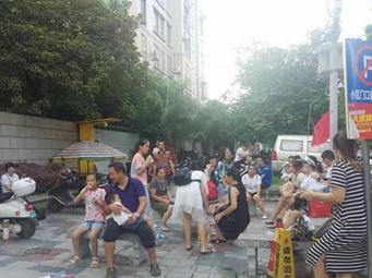 柳州一小区多日断电停水 数百住户煎熬寝食难安