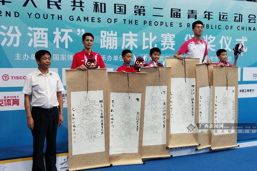 二青会蹦床赛收官:广西代表团收获体校组3银2铜