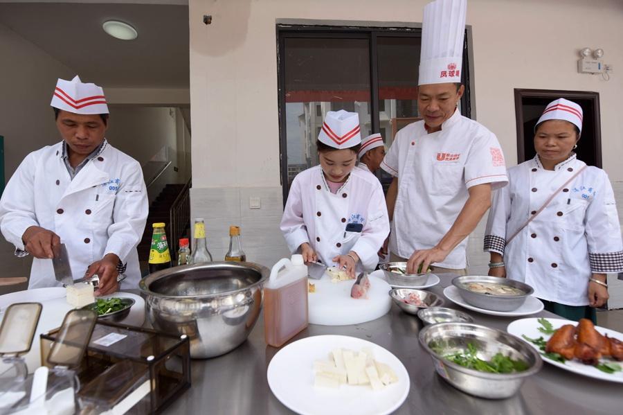 广西三江开展就业培训助群众脱贫(图)