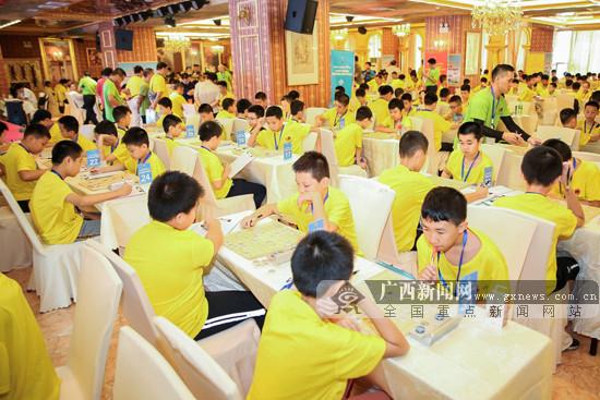 2019广西象棋锦标赛收官 成人组个人赛秦荣