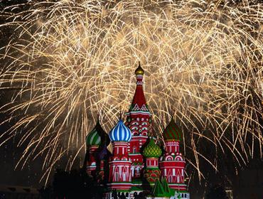 """""""救世主塔楼""""国?#31034;?#20048;节在莫斯科开幕"""