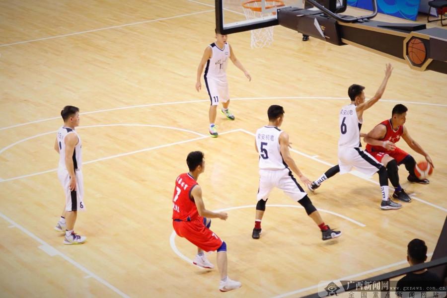 高清:全国残运会聋人篮球赛8强角逐 广西队首场险胜