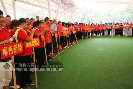 广西66支队伍角逐中国门球冠军赛总决赛4张入场券