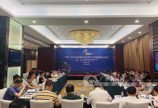 广西自贸试验区崇左片区规划建设咨询会召开