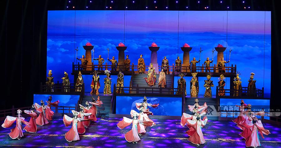 甘肃张掖:大型情景历史剧《回道张掖》上演