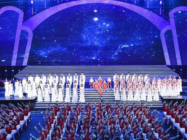 第21屆南寧國際民歌藝術節晚會上演