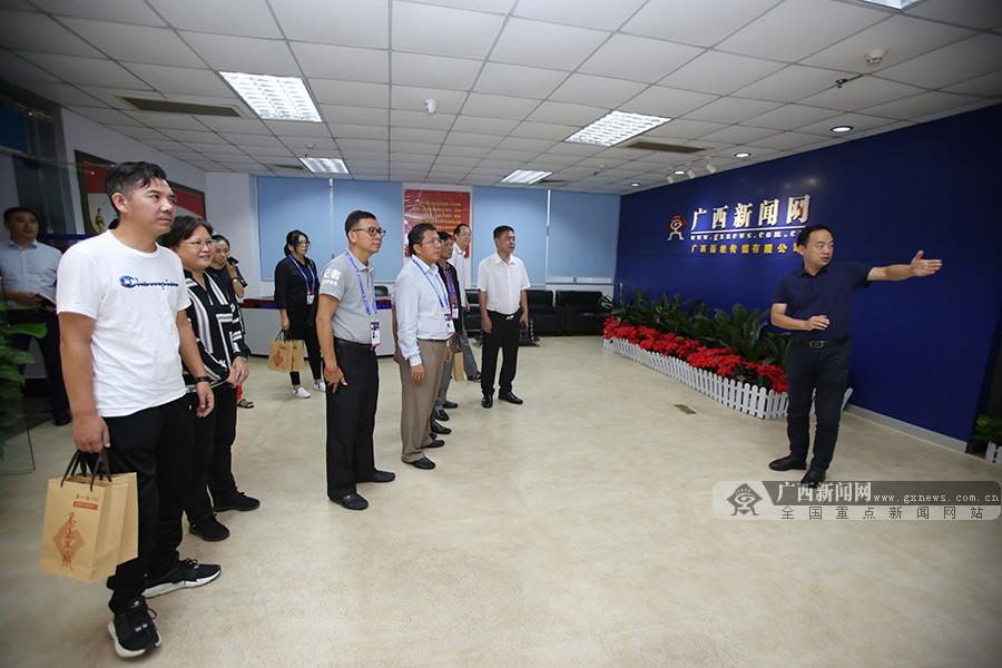 柬中记协探访广西新闻网 赞叹广西文化精品《那世纪》走向国际荧屏
