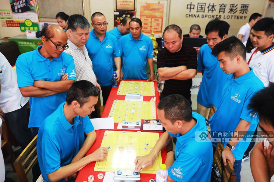"""体彩""""民间棋王""""赛广西赛区已决出12个市级""""棋王"""""""