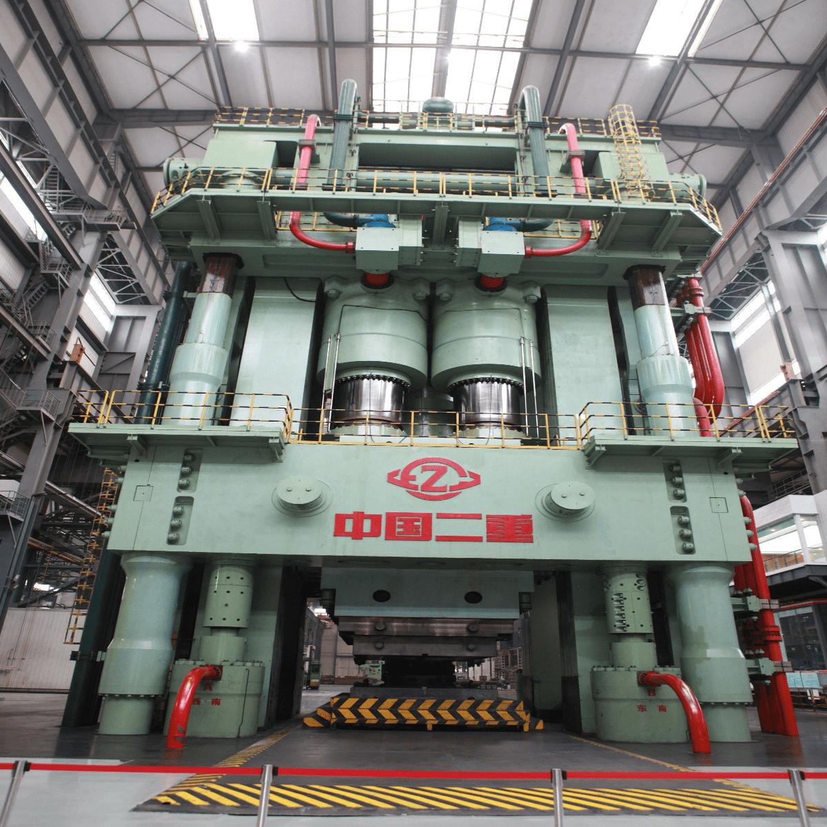 国之重器 中国二重造成8万吨模锻压力机成世界之最