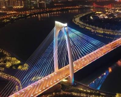多彩桥梁扮靓南宁 记录城市格局的革新与飞越(图)
