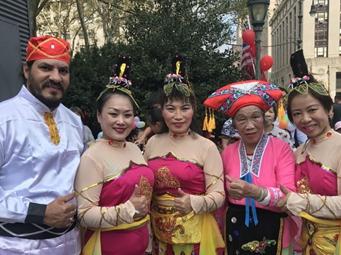 """《廣西尼的呀》亮相紐約""""中國日""""活動(組圖)"""