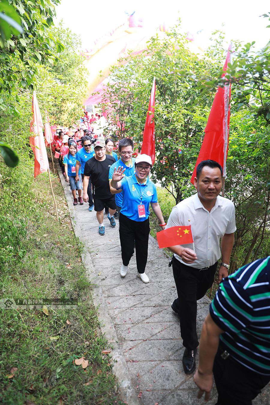 2019全国重阳登高健身大会广西分会场在宜州举行