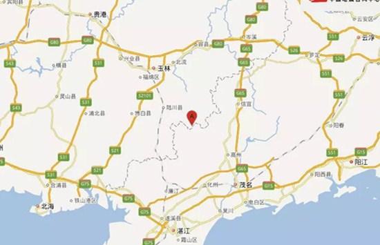 广西新闻网滚动直播:广西玉林北流市发生5.2级地震
