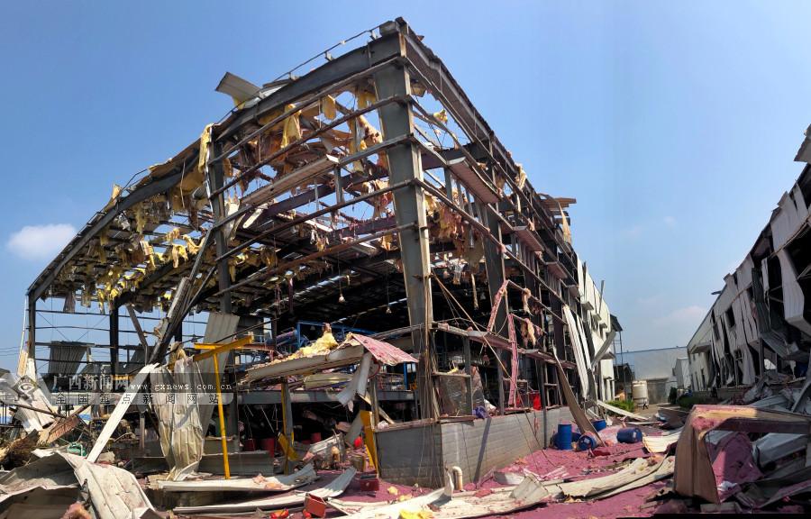 """陆川""""10・15""""厂区爆炸事故善后处理有序开展"""