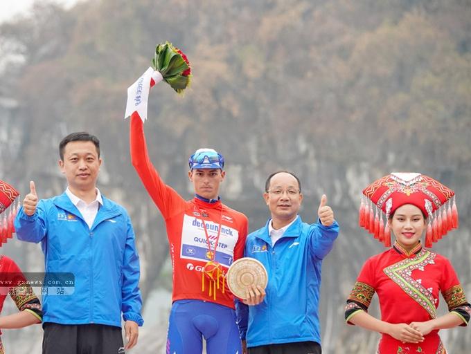 """2019""""環廣西""""收官:快步車隊馬斯獲總成績冠軍"""