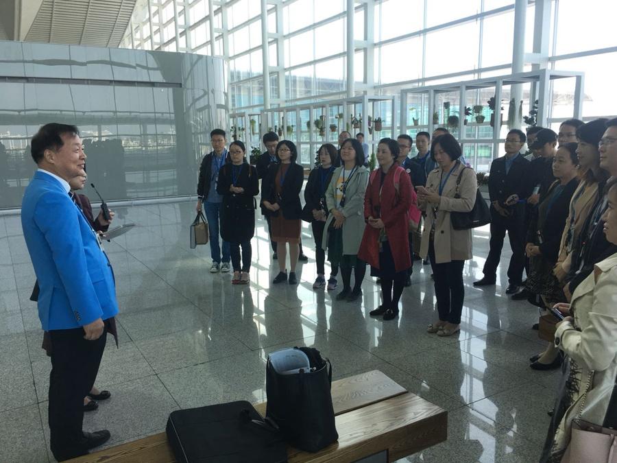 中国青年友好使者代表团继续访韩£º深入韩国政企 携手融洽交流