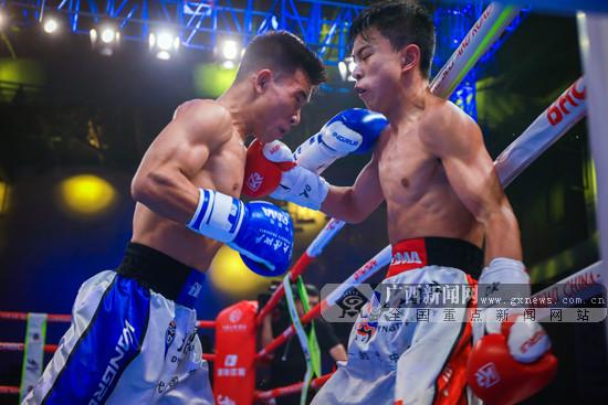 2019中國-東盟拳王賽在南寧戰罷 中國軍團斬獲3冠