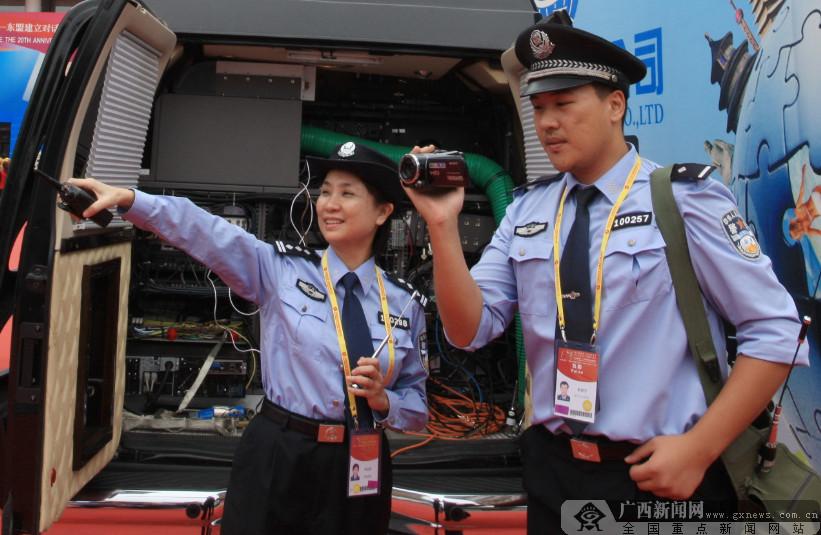 科技兴警 南宁公安信息化建设飞速发展