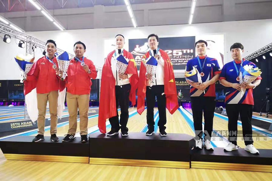 2019保龄球亚锦赛:广西籍国手杜建超收2金1银1铜