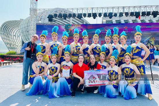 2019中国少数民族广场舞大赛(梧州·苍海站)落幕