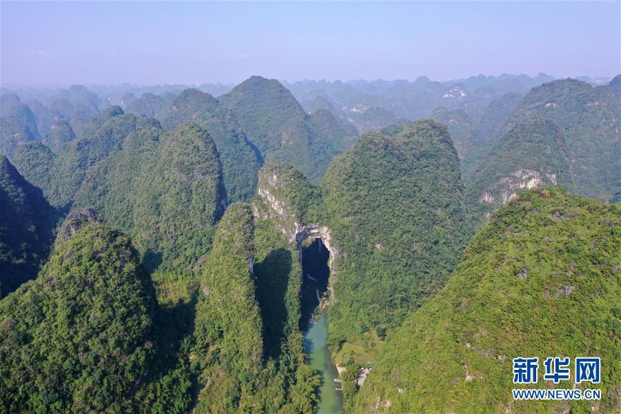 广西罗城:国家地质公园多峻秀