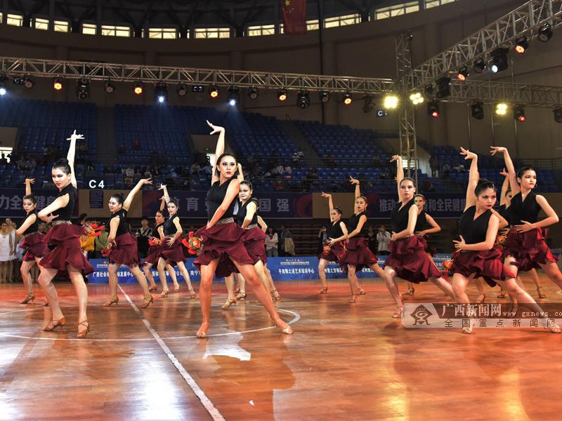 钦州市首办体育舞蹈国际赛事