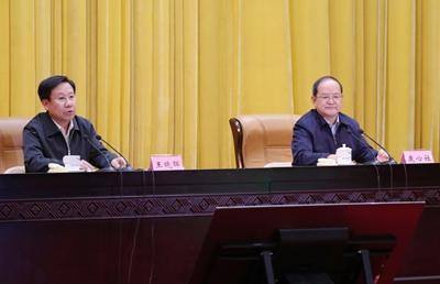 中央宣講團來桂宣講黨的十九屆四中全會精神