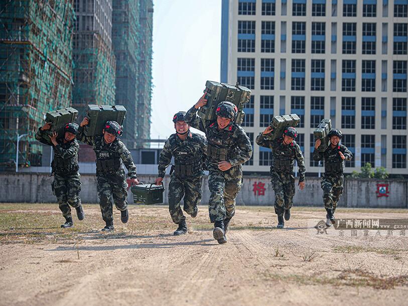 昂扬!蓬勃!武警防城港支队掀起练兵备战狂潮