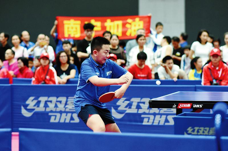 广西第十四届运动会开幕前展开多个项目争夺