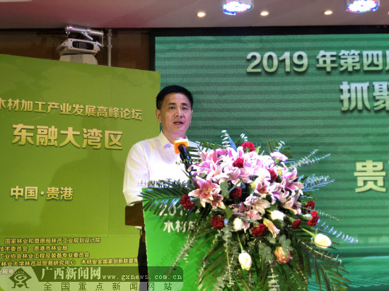 第四届中国(贵港)木材加工业发展高峰论坛举行