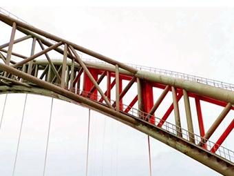 """在""""大雪""""前完成""""換裝"""" 南寧六律大橋預計年底通車"""