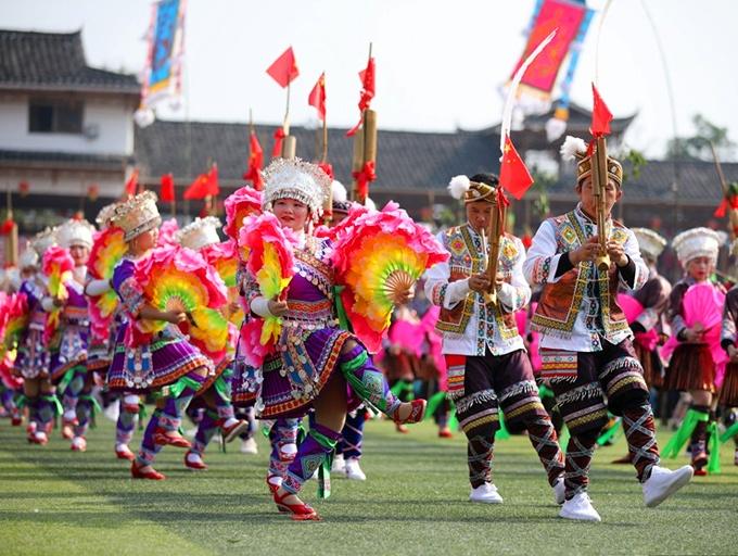 2019第十九届中国·融水苗族芦笙斗马节盛大开幕