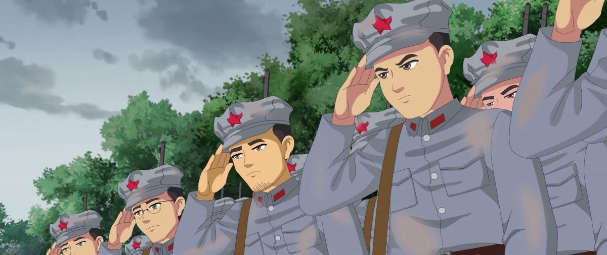 《湘江1934·向死而生》剧照