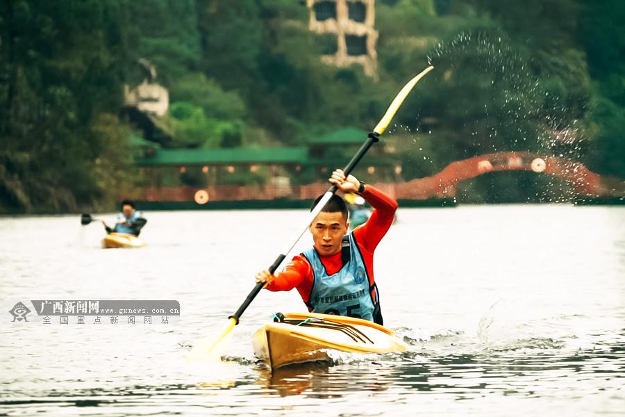 """南宁城市运动系列赛结束""""皮划艇桨板""""邀请赛争夺"""