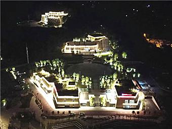 美爆!百色红色景区集体亮灯 迎接百色起义90周年