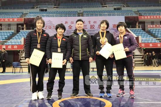 2019年全国三跤总决赛:广西摔跤队开启